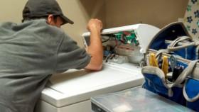 Sena skalbimo mašina